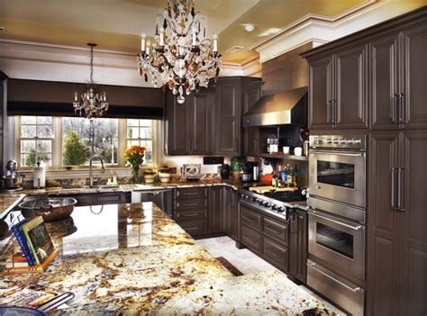 dark brown cabinets kitchen dark brown kitchen cabinets kitchenidease com