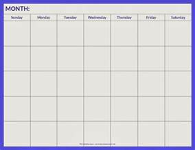 blank calendar pages 2016 calendar template 2017