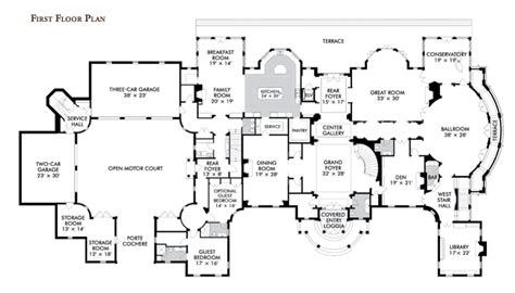 large mansion floor plans acvap homes inspiration