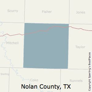 nolan county texas map best places to live in nolan county texas