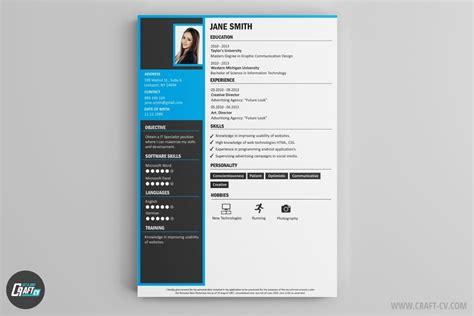 Creative Resume Brochure by Resume Builder Creative Resume Templates Craftcv