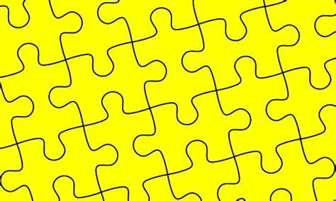 Puzzle Pattern Ai | designeasy how to create puzzle pieces template in adobe