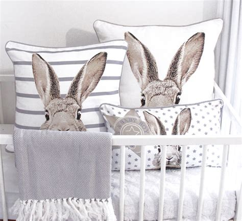 Bunny Themed Nursery Thenurseries Rabbit Decorations Nursery