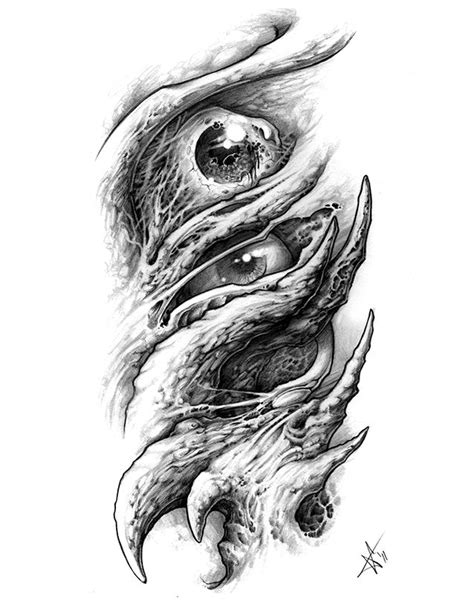 biomechanical tattoo line drawing 116 best images about black and white tattoo art on