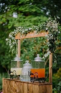 Rustic Wedding Decorations Lemonade Stand Rustic Wedding Decor Deer Pearl Flowers