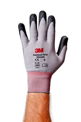 comfort grip gloves 3m comfort grip glove cgl gu general use size l 3m