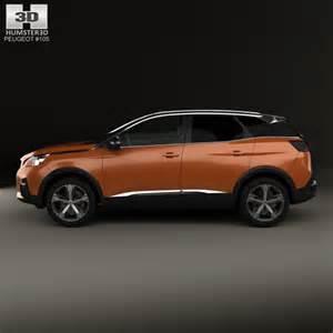 Peugeot 3008 Models Peugeot 3008 2016 3d Model Hum3d