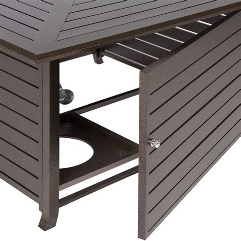 gas pit cover best choice products extruded aluminum gas outdoor