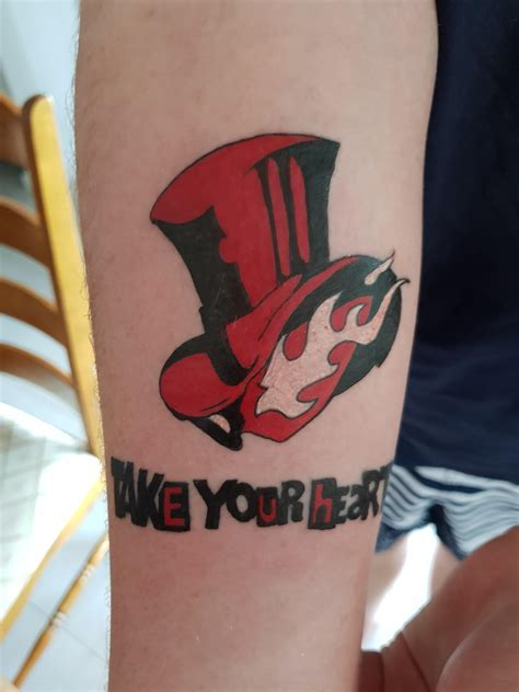 i just got a tattoo and i want it removed just got my persona5