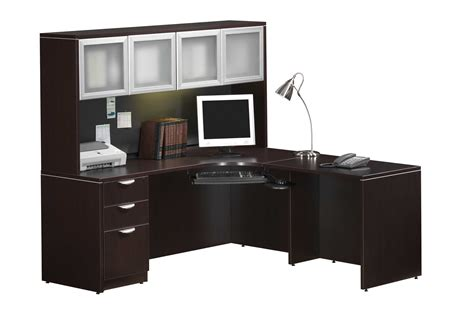 Furniture Large Corner Desk With Hutch And Storage Ideas Corner Desks With Hutch For Home Office