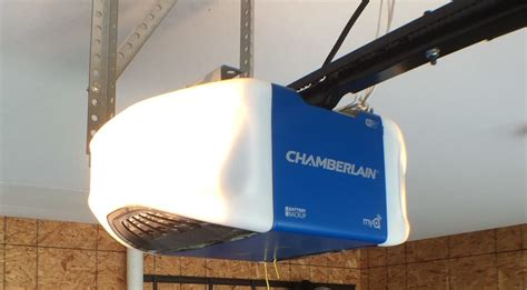 Garage Door Opener With Wifi by Chamberlain Wifi Garage Door Opener Review