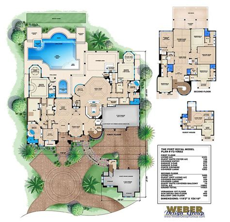 2 story house plan luxury 10 000 sq ft tuscan mansion 5