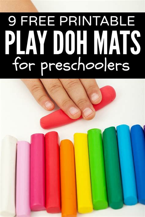 Play Doh Play Mat by 9 Free Printable Play Doh Learning Mats For
