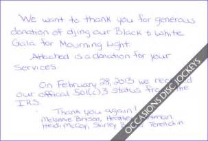 Thanking Letter Quotes Thank You For Donation Quotes Quotesgram