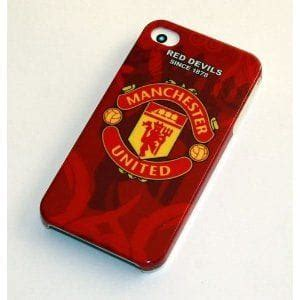 Iphone 4 4s Manchester United Stripe Black Cover Casing best iphone 4s for manchester united fans product reviews net