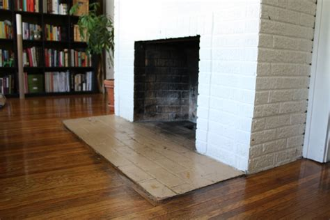 painting a fireplace hearth merrypad