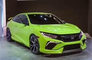 2016 honda civic si sedan hatchback usa new automotive