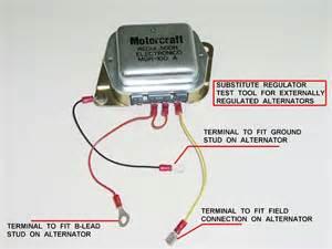ford alternator voltage regulator wiring diagram ford 3g alternator wiring diagram ford test