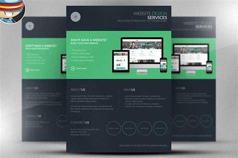 flyer design maker websites dark web design services flyer template on behance