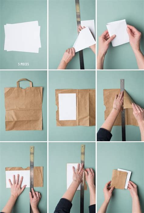 How To Make A Book Out Of Construction Paper - 5 minute bookbinding bags and notebooks