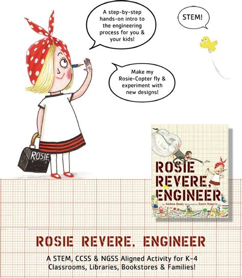 libro rosie revere engineer 509 best images about rosie revere engineer activities on steam activities
