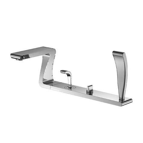 bath mixer with shower 4 deck mounted bath shower mixer uk bathrooms