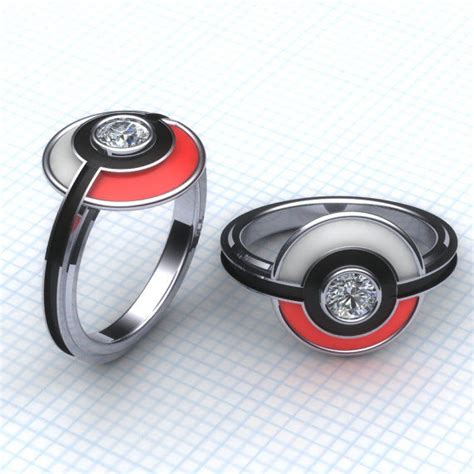 18 of the most geeky wedding rings linked for guff