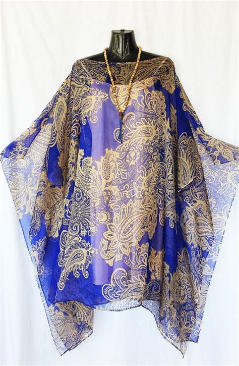 Kaftan Satin Payet Gold Syahilla indigo blue and gold paisley 100 silk chiffon kaftan by molly kaftans indigo blue and and 4