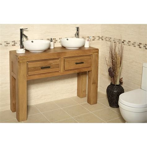 Free Standing Vanity Units Bathroom Milan Oak Free Standing Bathroom Vanity Unit Best Price Guarantee