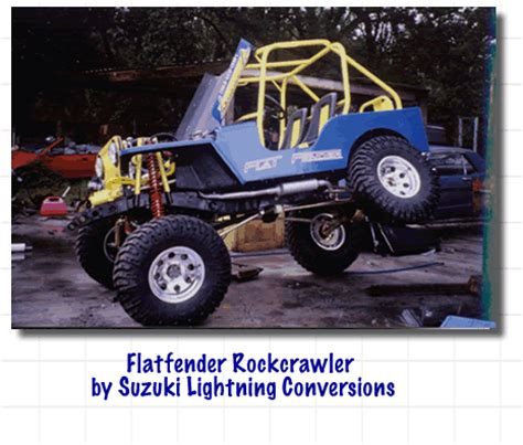 Suzuki Lightning Conversions Conversions Autos Weblog