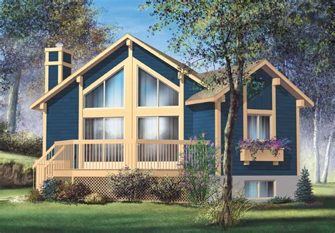vacation home plans one bedroom vacation home 80557pm architectural designs house plans
