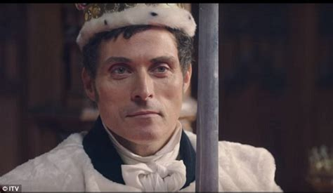 rufus sewell tv shows jenna coleman stars as queen victoria in first trailer for