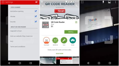 android qr code reader how to scan qr codes ubergizmo