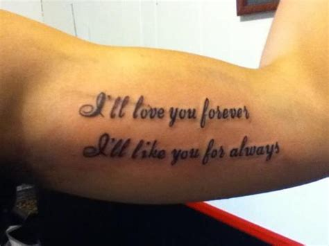 mother son tattoos quotes quotes for tattoos quotesgram
