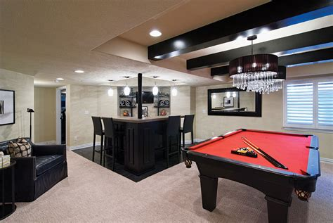 basement bar and living room ideas chadsworth point basement finished basement company