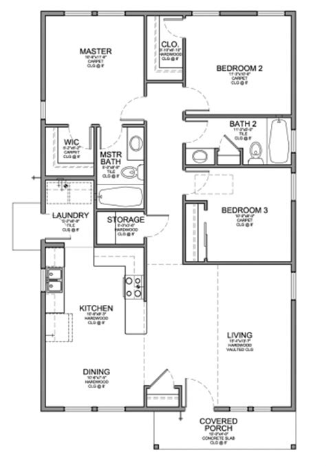 small 2 bedroom 2 bath house plans small 3 bedroom 2 bath house plans house floor plans