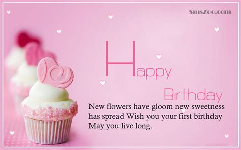 Happy Birthday Quotes For In 1st Happy Birthday Poems For Baby Princess 1st Birthday