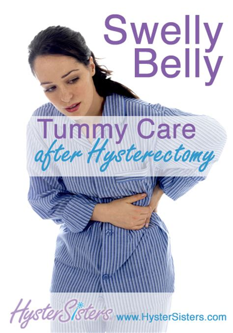 tummy care swelly belly hysterectomy forum