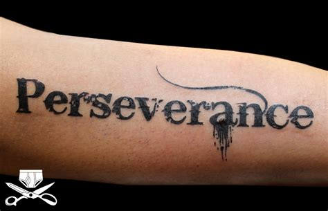 bleeding cowboy tattoo perseverance in bleeding cowboy font hautedraws