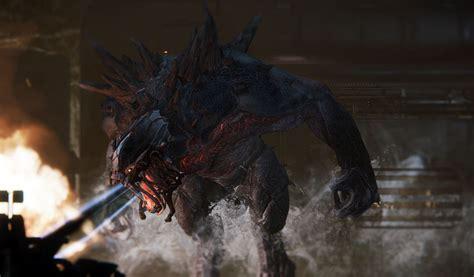 evolve game fire monster wallpaper  pc hd wallpaper