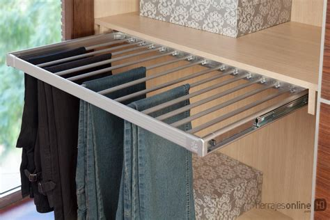 herrajes  herrajes  accesorios  interiores de armarios  closets pantalonero