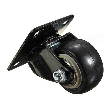 Rubber Furniture Casters by Heavy Duty Pu Swivel Castor Wheels Trolley Furniture