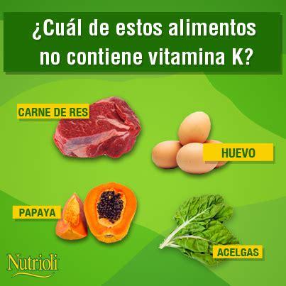alimentos que contengan vitamina k 191 sab 237 as que la vitamina k es muy importante ya que ayuda a