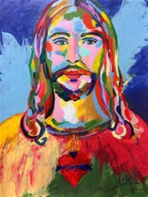 acrylic painting of jesus 1000 images about christian in the modern era on