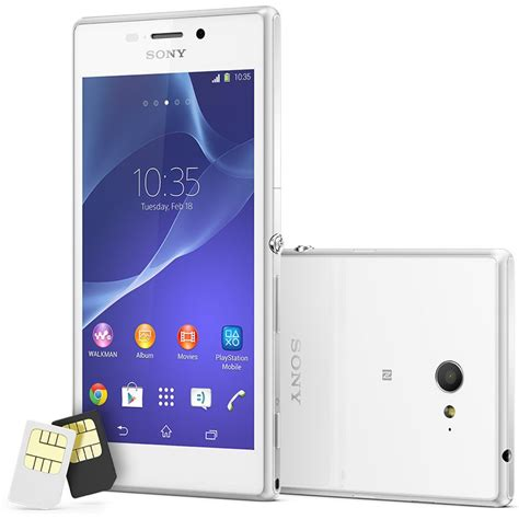 Xperia M2 Dual White sony xperia m2 dual price in india buy sony xperia m2