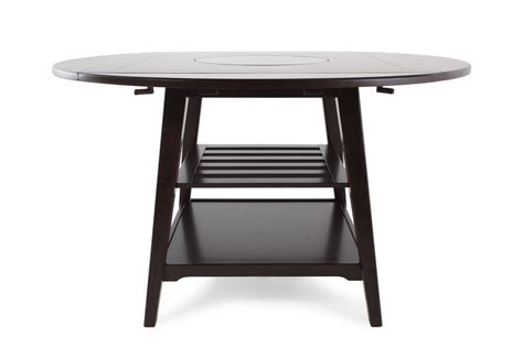 table with lazy susan winners only parkside 2 square drop leaf table with