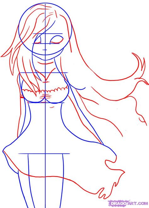 tutorial drawing online how to draw a gothic lolita step by step fashion pop
