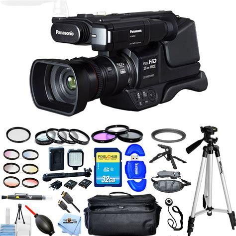 Cashback Panasonic Camcorder Hc Mdh2 Hc Mdh2 Datascript panasonic hc mdh2 avchd shoulder mount camcorder pal all you need kit new 8887549389733 ebay