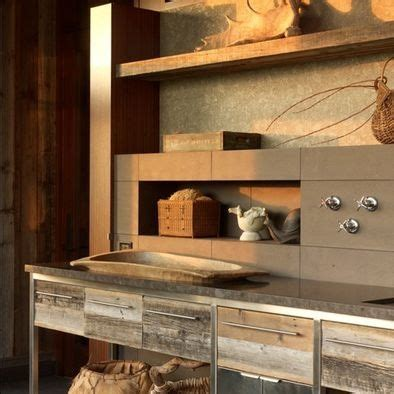 Rustic Home Decor Really Cool Idea Use Wood Pallets For Drawer Facings