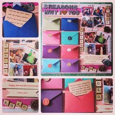 Handmade Scrapbook For Boyfriend - you can always expressed your through a scrapbook